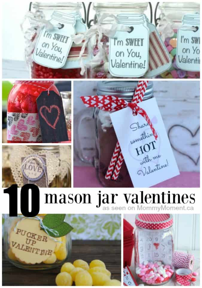 10 mason jar gift ideas for valentines day, Ideas