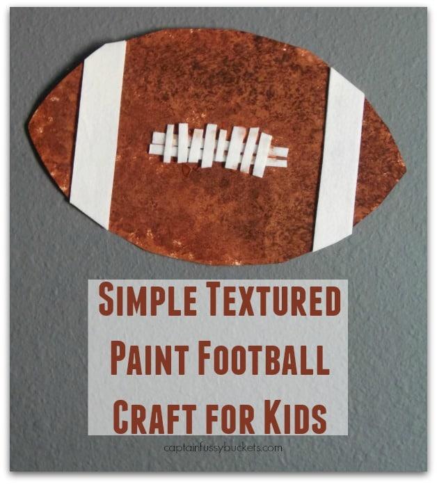 paint football craft
