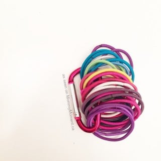 HOW TO ORGANIZE PONYTAIL HOLDERS