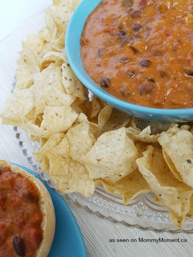easy crock pot bean dip