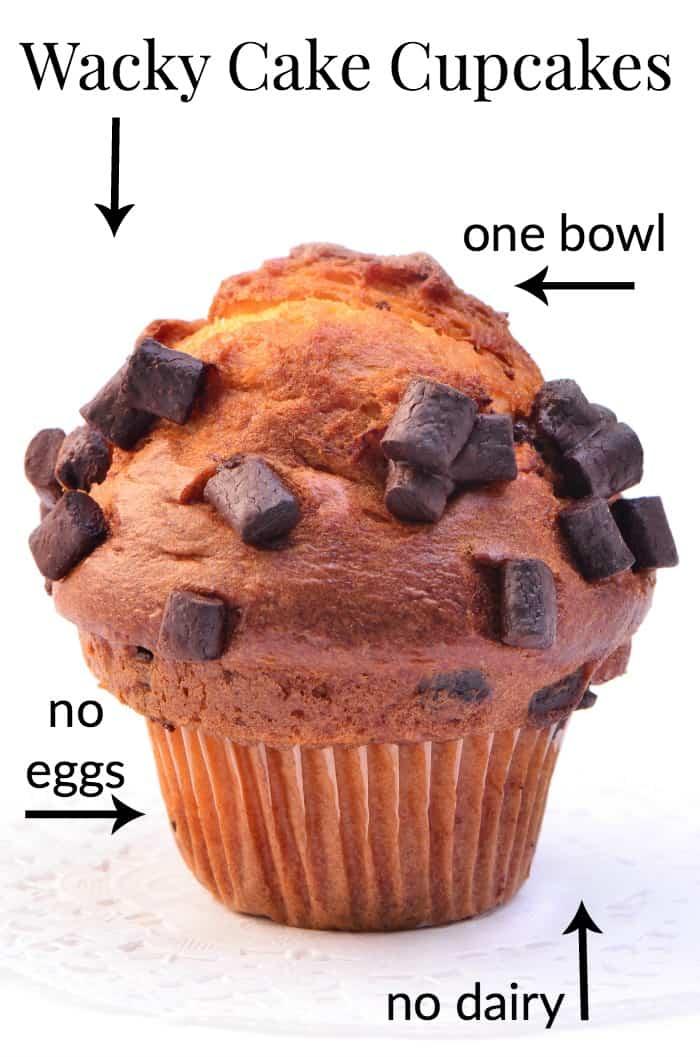 One Bowl Chocolate Wacky Cake