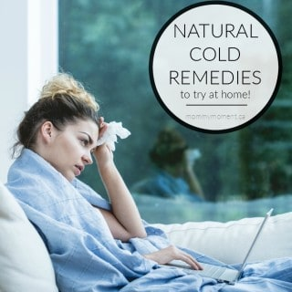 NATURAL COLD REMEDIES TO TRY AT HOME