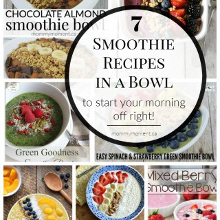 7 SMOOTHIE BOWL RECIPES TO START YOUR MORNING OFF RIGHT!