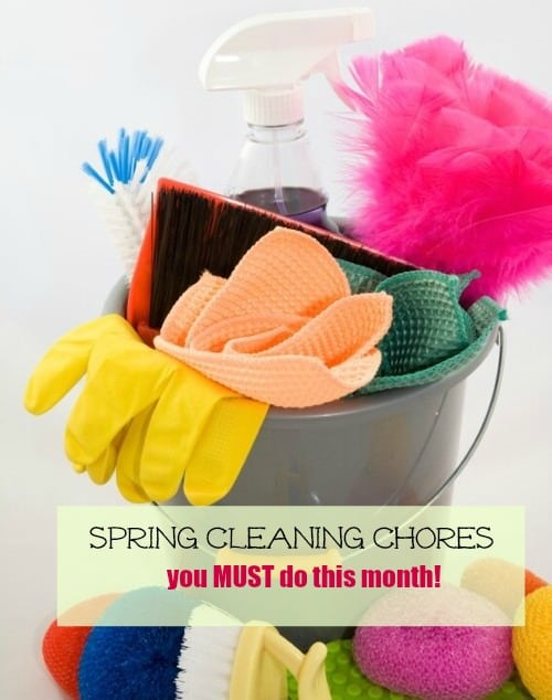 Spring cleaning tips and tricks mommy moment What month is spring cleaning