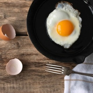 SUNNY SIDE UP EGG IN CAST IRON  + #WakeUpToYellow Getaway for TWO valued at $3,000