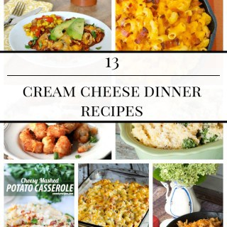 13 CREAM CHEESE DINNER RECIPES