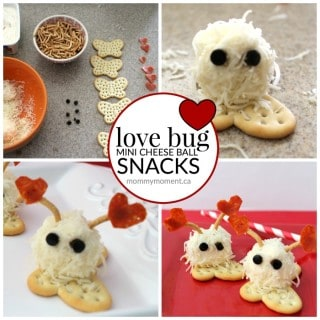 LOVE BUG MINI CHEESE BALLS SNACK
