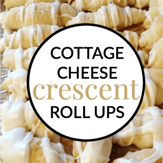 COTTAGE CHEESE CRESCENT ROLL UPS
