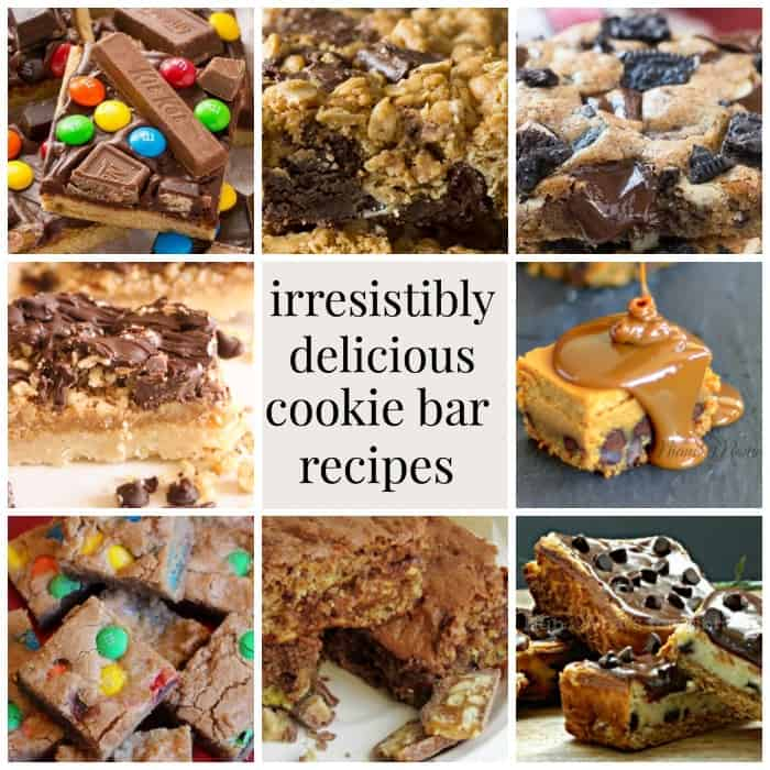 Irresistibly delicious cookie bar recipes mommy moment for Bar food yummy