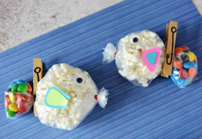 Fishy snack bags for kids