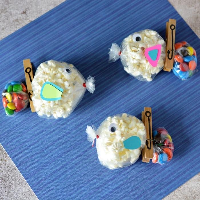 Fish themed snacks