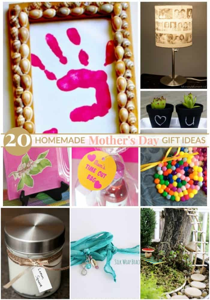 Homemade mother 39 s day gift ideas mommy moment for Small gifts for mom