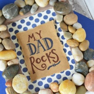 MY DAD ROCKS FRAME – FATHER'S DAY GIFT