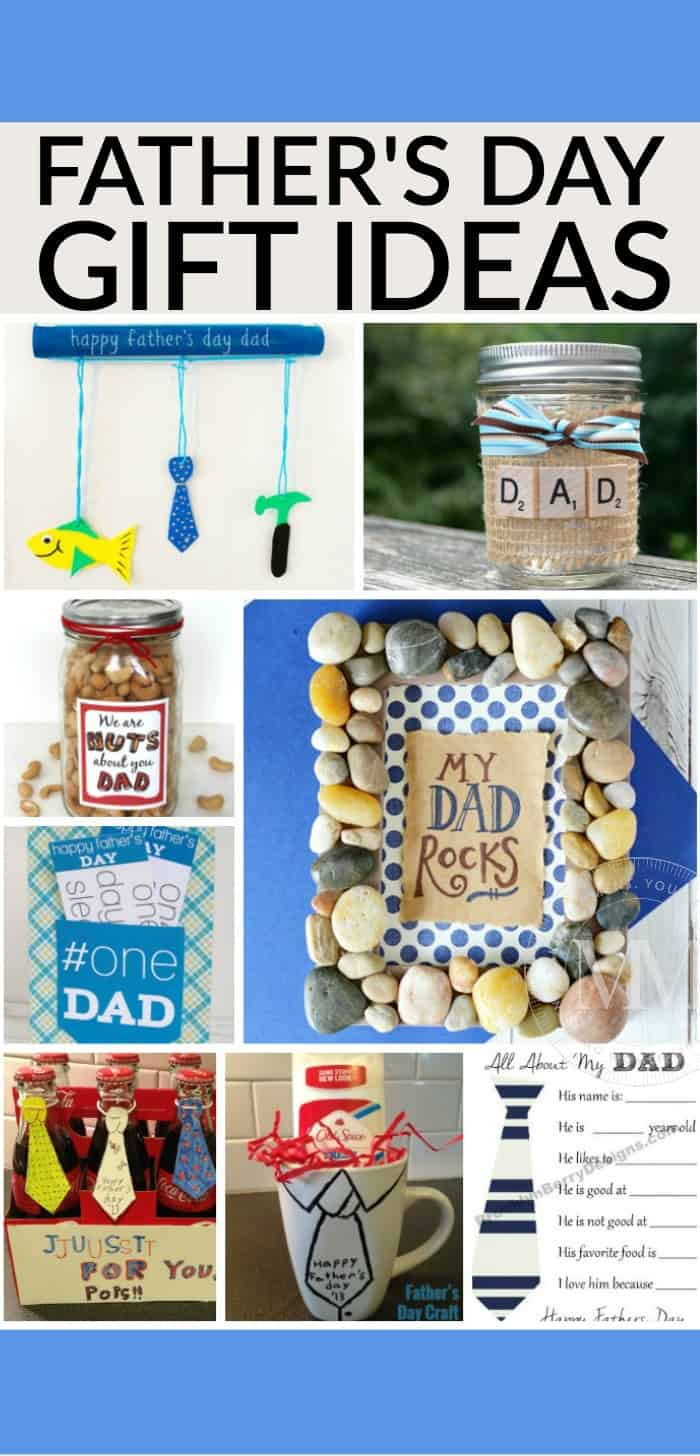 DIY father's day gifts to make for dad or that special man in your life.