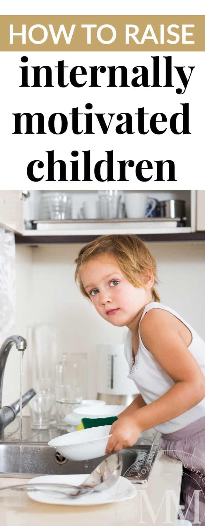 internally motivated children