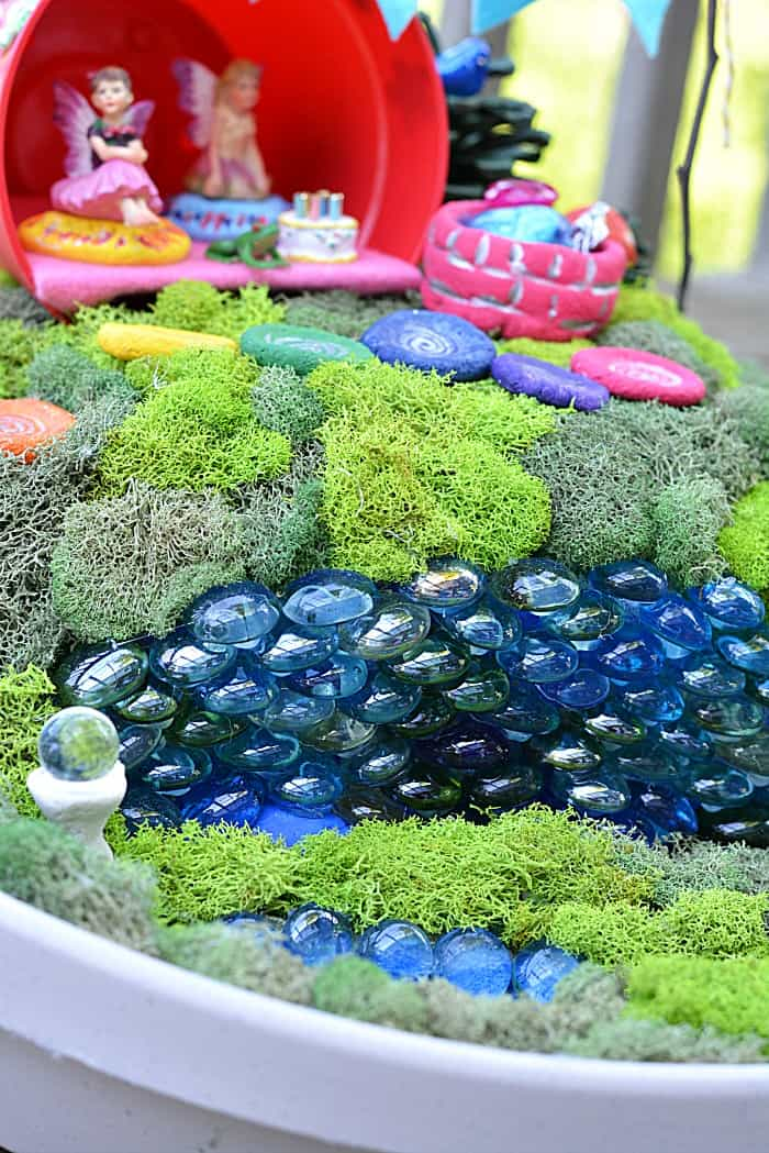 Fairy Garden Stone Wall