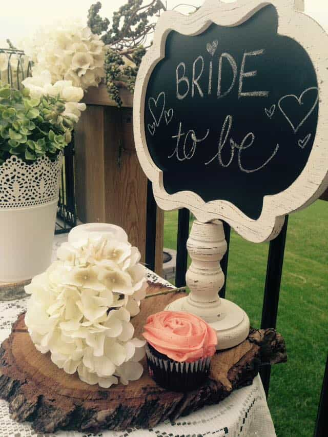 Bride to be garden theme bridal shower ideas