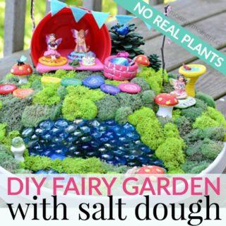 FAIRY GARDEN & SALT DOUGH FAIRY GARDEN ACCESSORIES