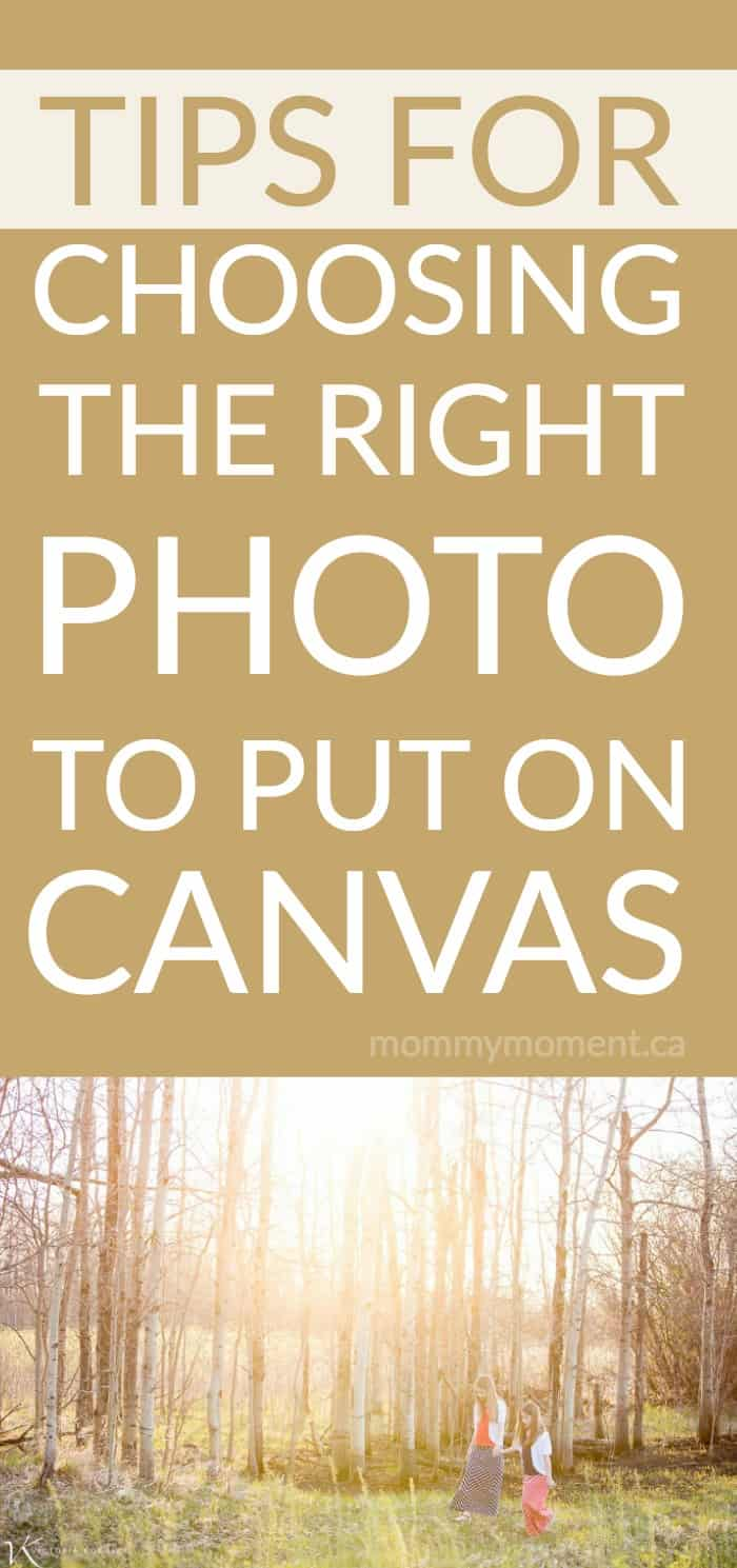 5 helpful tips for choosing the right photo to put on canvas