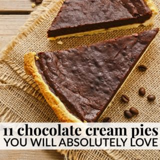 11 HOMEMADE CHOCOLATE CREAM PIE RECIPES