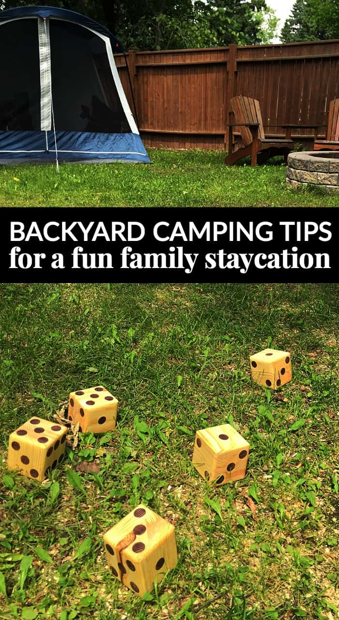 Inspirational family staycation tips