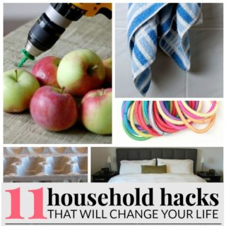 HOUSEHOLD HACKS THAT WILL CHANGE YOUR LIFE!