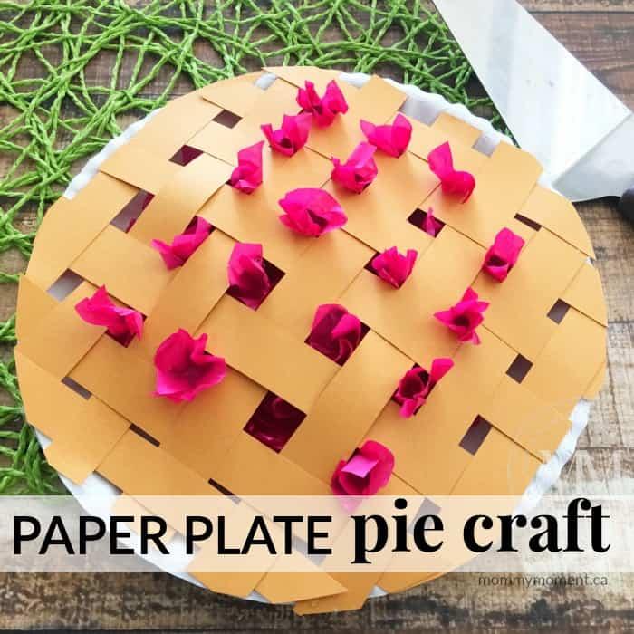 Pie Crafts For Preschoolers