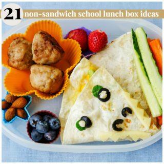 NO SANDWICH SCHOOL LUNCH BOX IDEAS