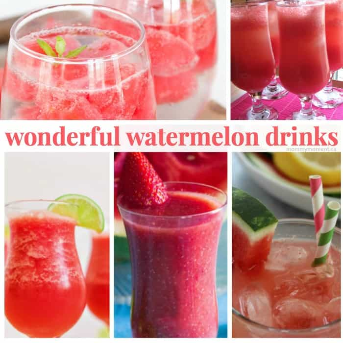 watermelon drink recipes with no alcohol