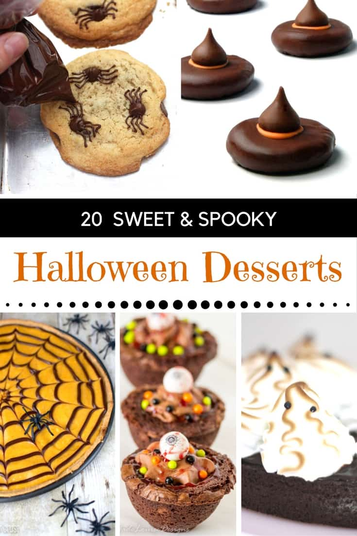 20 SWEET & SPOOKY HALLOWEEN DESSERTS - Mommy Moment