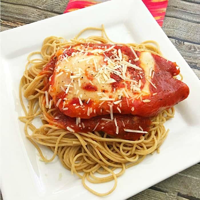 4-Ingredient-Baked-Chicken-Parmesan