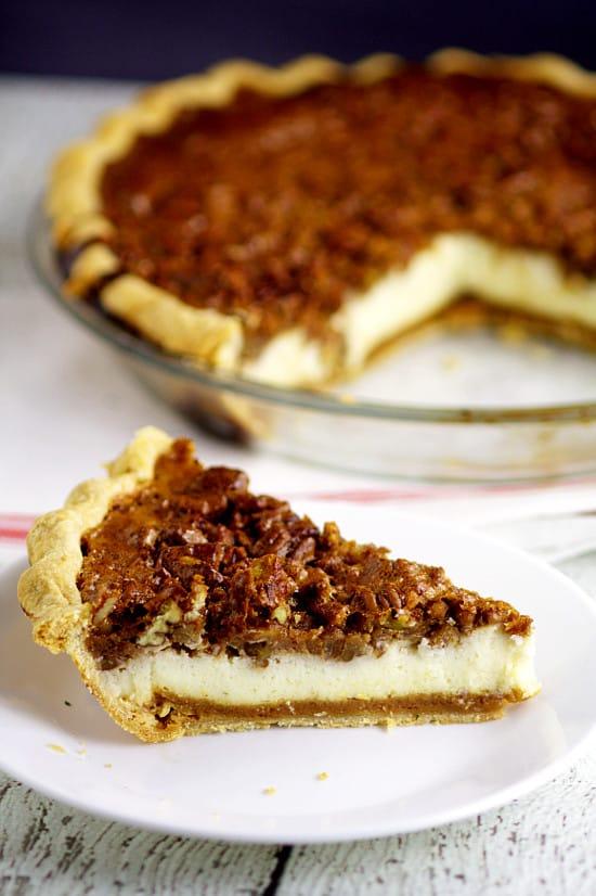Chocolate Pecan Pie Cheescake