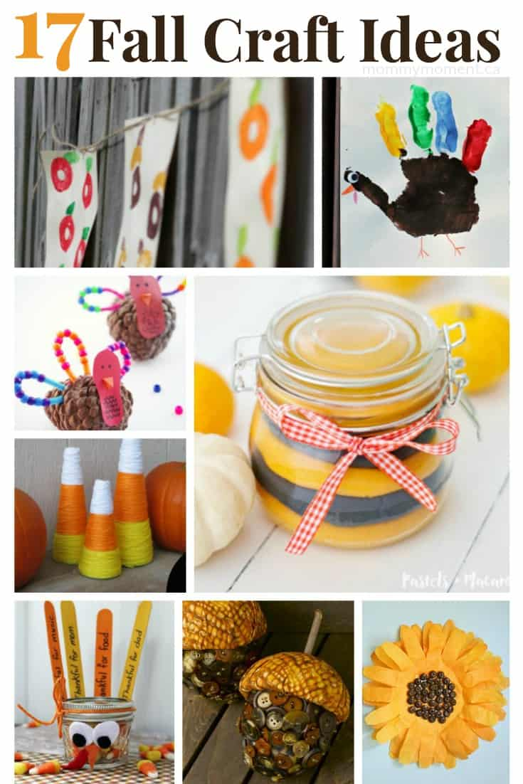 17 fall craft ideas mommy moment for Fall ideas crafts