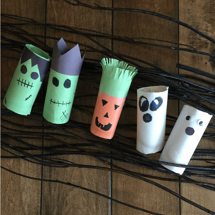 Halloween toilet paper roll craft mommy moment halloween toilet paper roll craft sciox Gallery