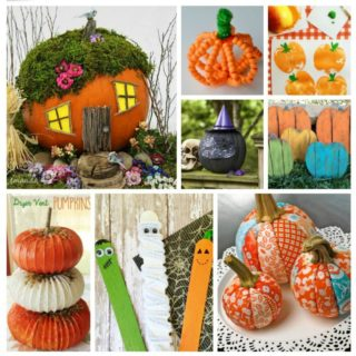 21 PUMPKIN CRAFTS