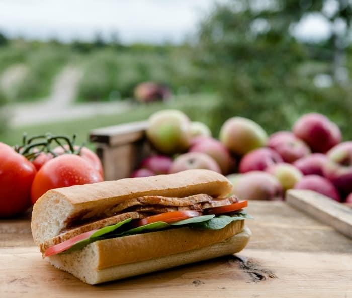 Canadian Carved Turkey Sandwich