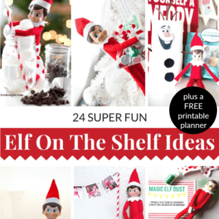 24 FUN ELF ON THE SHELF IDEAS + FREE PRINTABLE