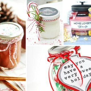 20 DIY CHRISTMAS MASON JAR GIFT IDEAS