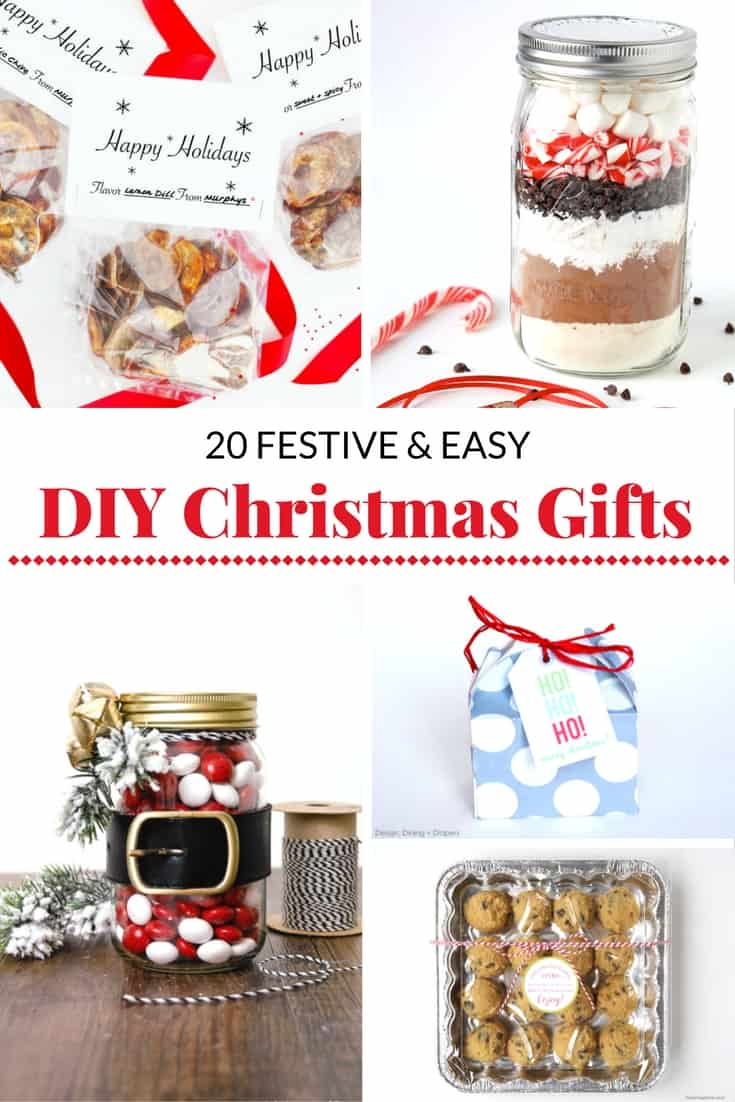 20 festive and easy diy christmas gift ideas mommy moment Homemade christmas gifts