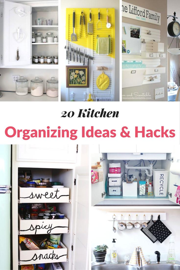 20 kitchen organizing ideas hacks mommy moment - Kitchen organizing ideas ...
