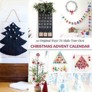 20 ORIGINAL WAYS TO MAKE YOUR OWN CHRISTMAS ADVENT CALENDAR