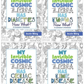 INVISIBLE COSMIC ZEBRA WORKBOOKS #31DaysOfGifts