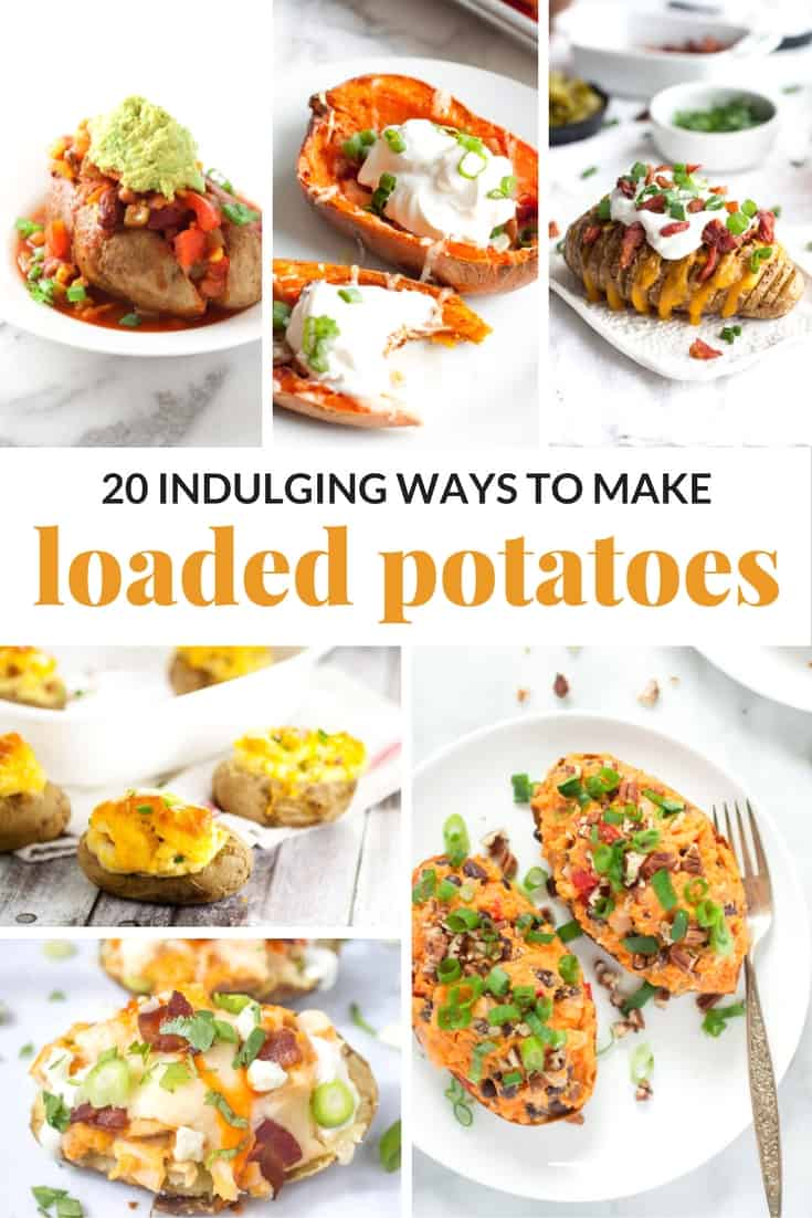if you are looking for an elevated side dish, or even a small meal on its own, LOADED POTATOES are the perfect choice!