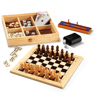 AVON 7-in-1 WOODEN GAME SET #31DaysOfGifts