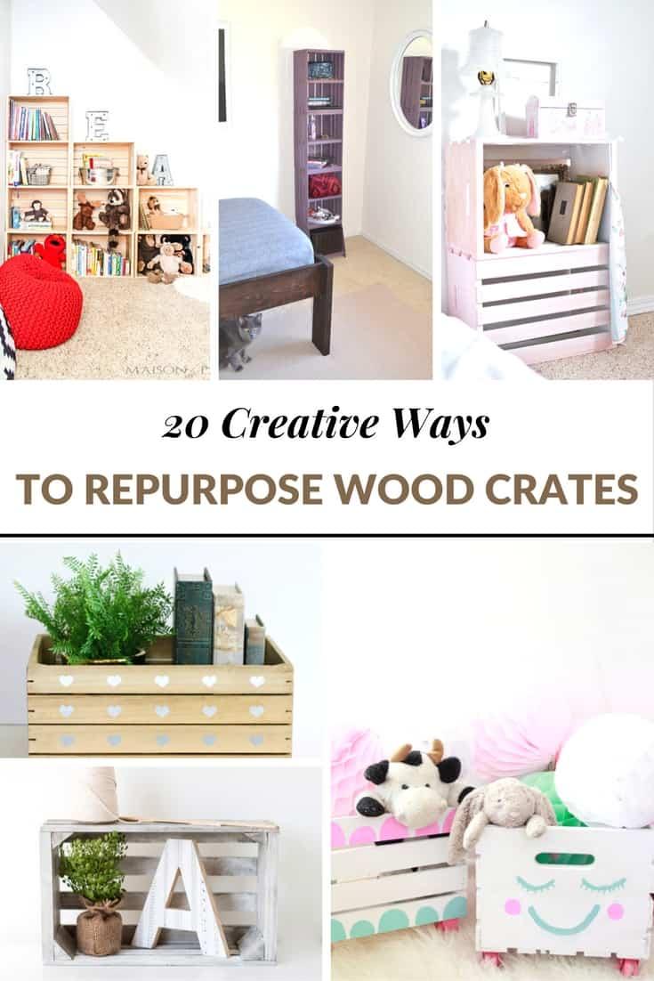repurpose wood crates