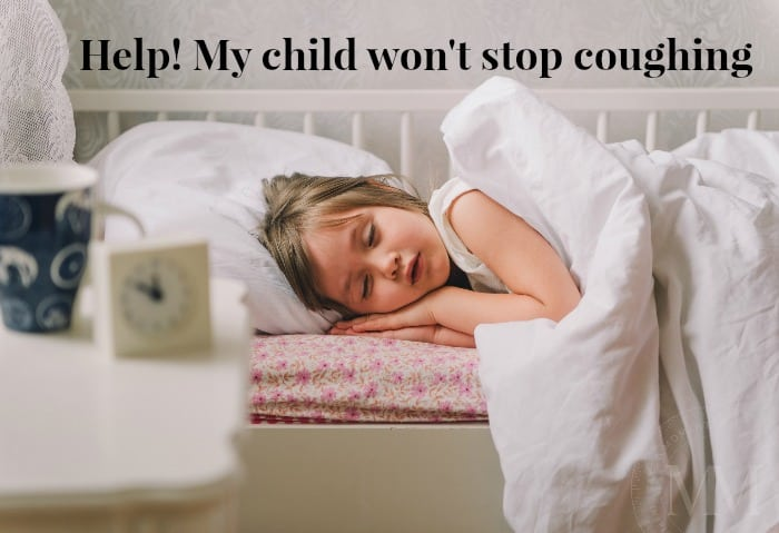 Child won't stop coughing image