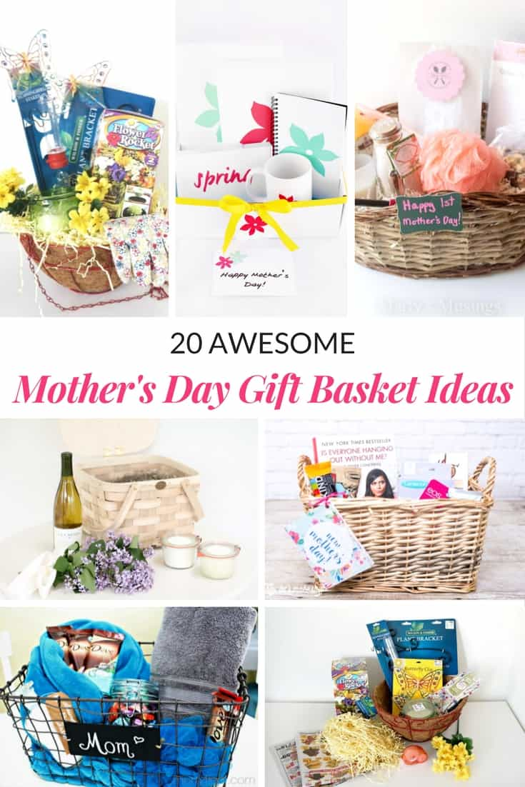 Awesome mothers day gift basket ideas mommy moment mothers day gift basket ideas negle Choice Image