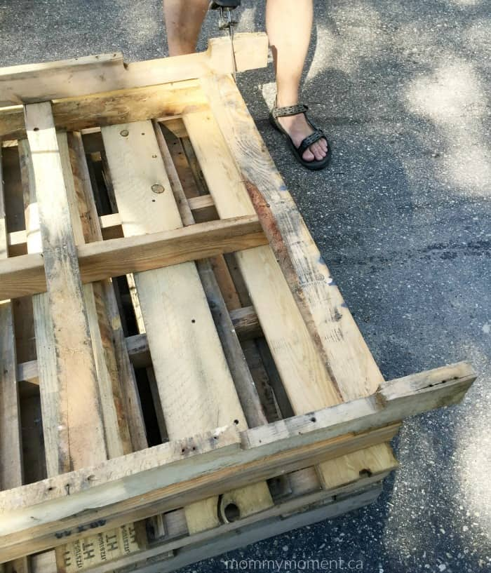 table base pallet-project