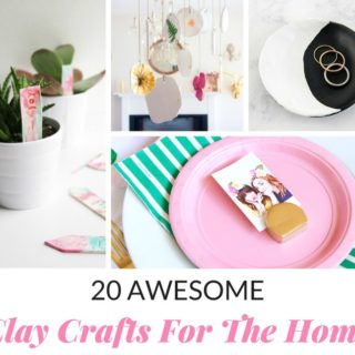 20 AWESOME CLAY CRAFTS FOR THE HOME