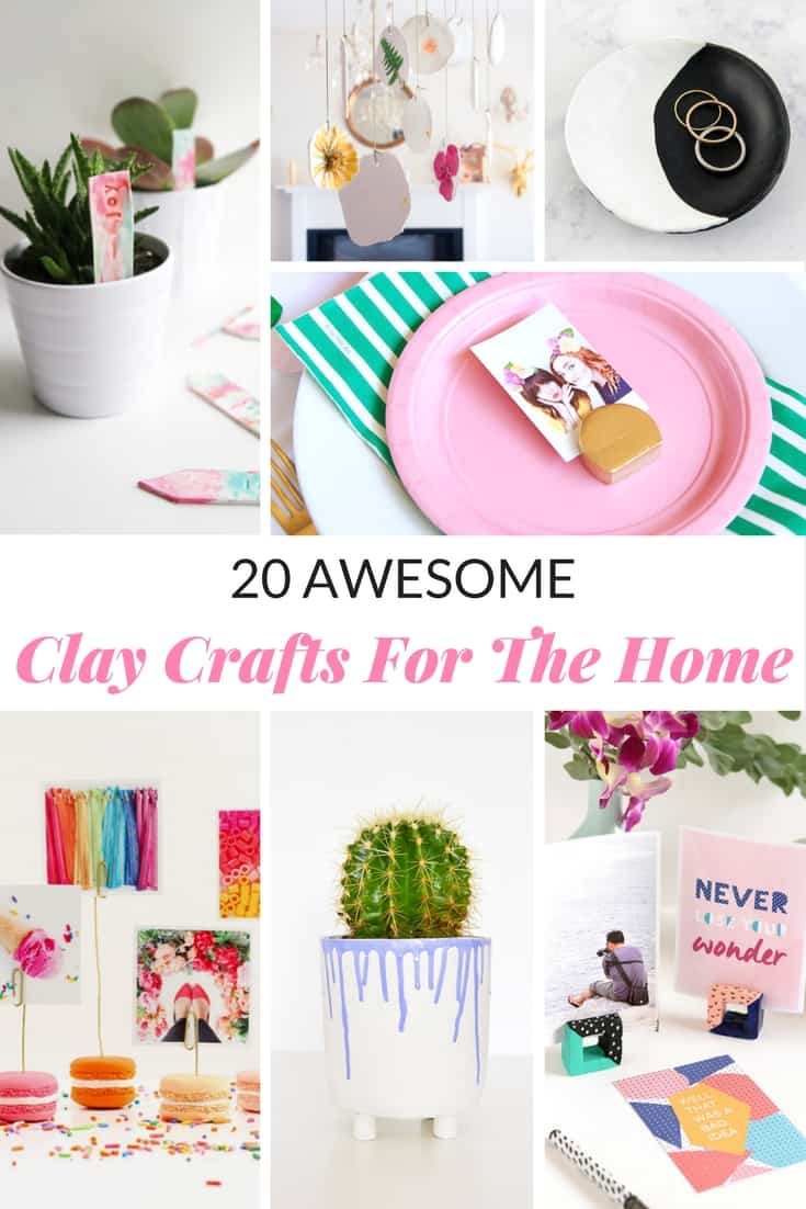 Captivating 20 CLAY CRAFTS FOR THE HOME